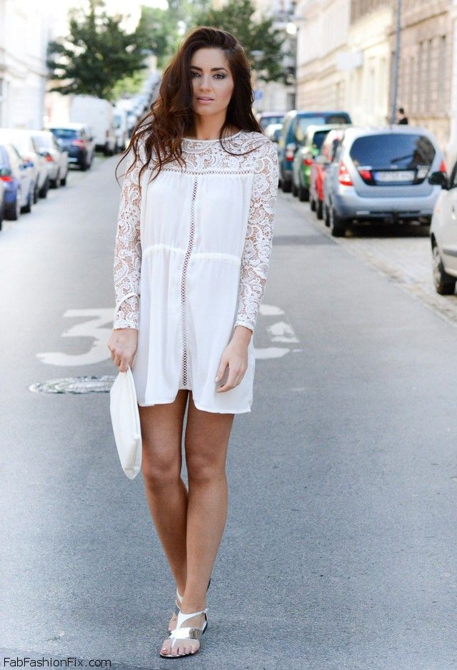 White Color Fashion Trend