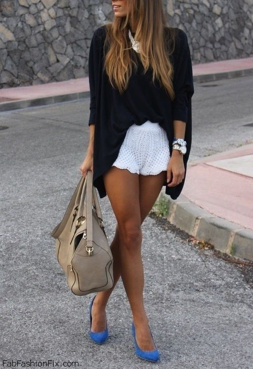 Style Guide: How to style and wear white shorts this summer? | Fab ...