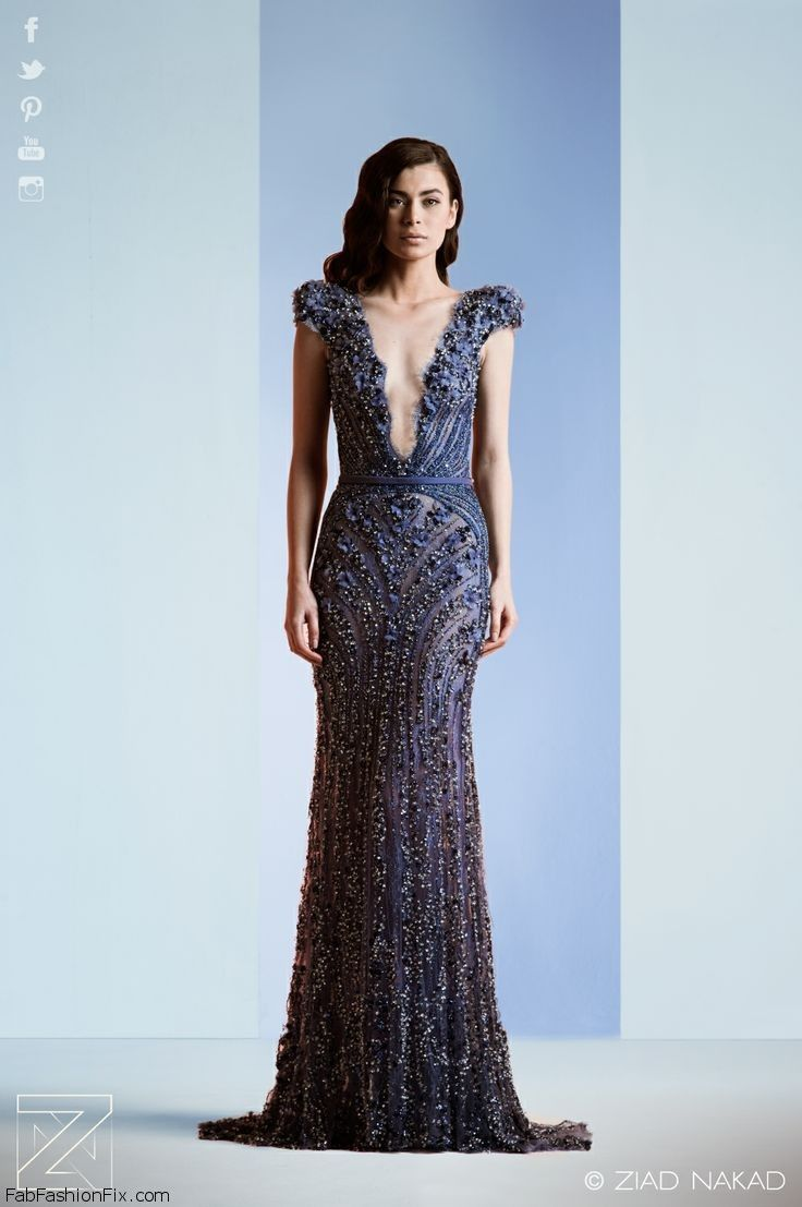 Ziad nakad haute couture spring summer 2014 collection for Haute couture collection