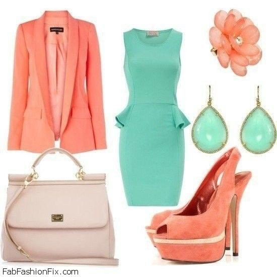 Style Guide 6 Chic Ways To Wear Coral And Turquoise Colors This Summer
