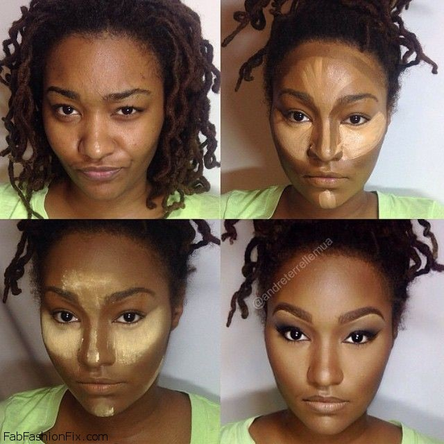 How to highlight and contour your face with makeup like a ...