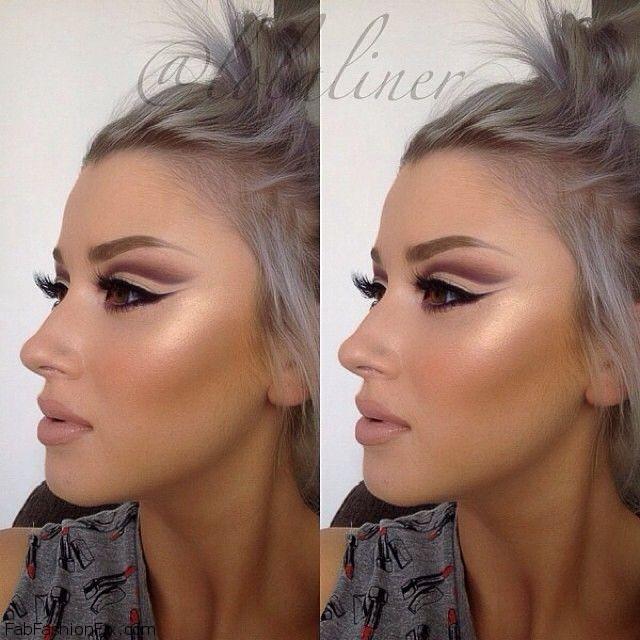 Highlight Contour Your Face Makeup Like