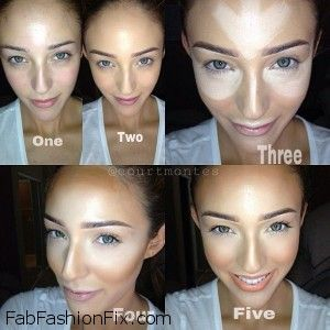Makeup-How-to-highlight-and-contour-your-face-with-makeup-like-a-pro-12