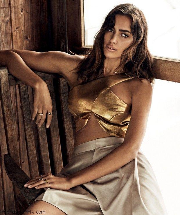 Irina Shayk is bronzed goddess on the cover of Vogue ...