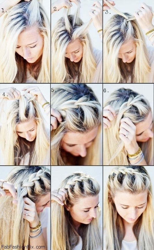Groovy Hairstyle French Braid Step By Braids Hairstyles For Women Draintrainus