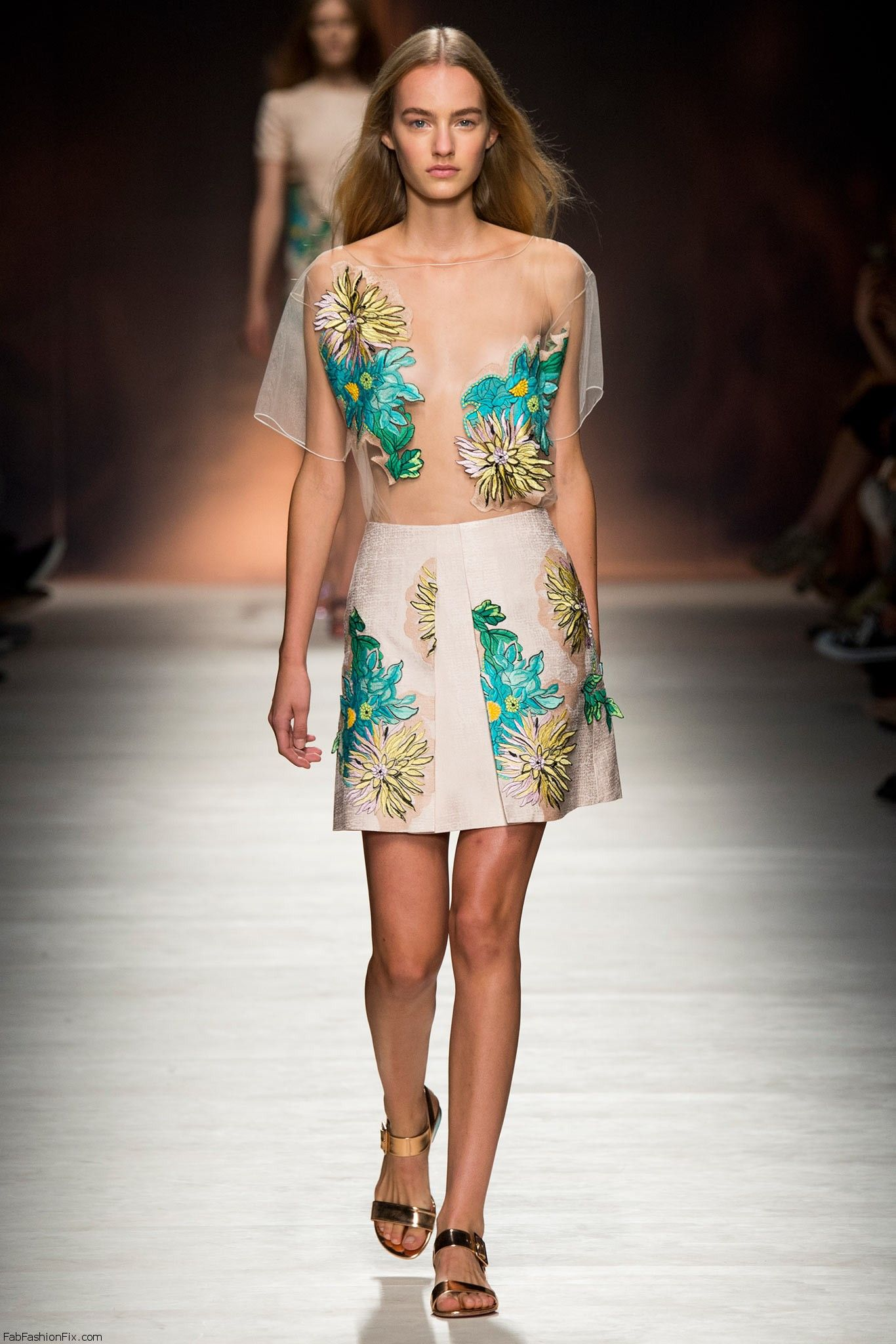 Blumarine spring/summer 2015 collection