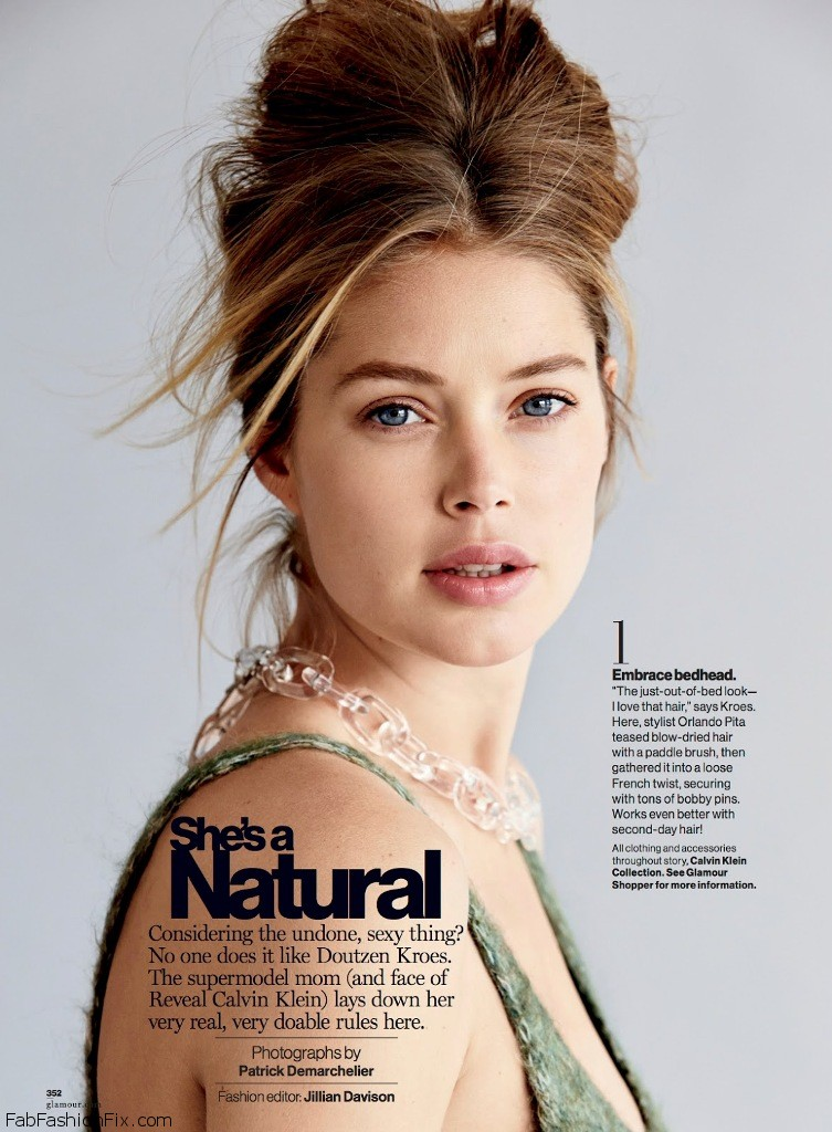 Doutzen Kroes reveals her beauty secrets for Glamour ...