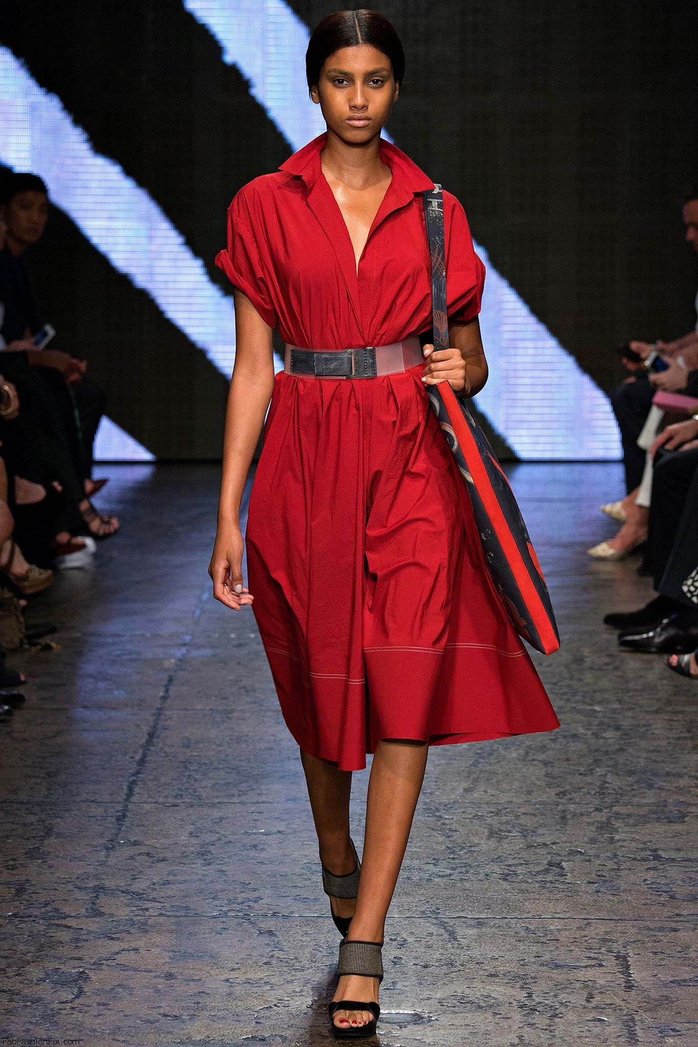 Donna karan spring summer 2015 collection new york for Donna karen new york