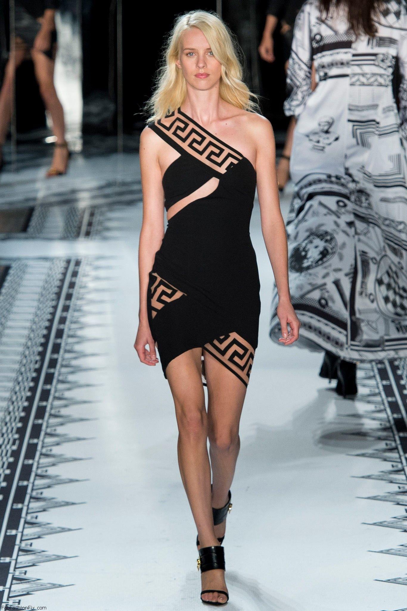 Versus Versace Spring Summer 2015 Collection New York