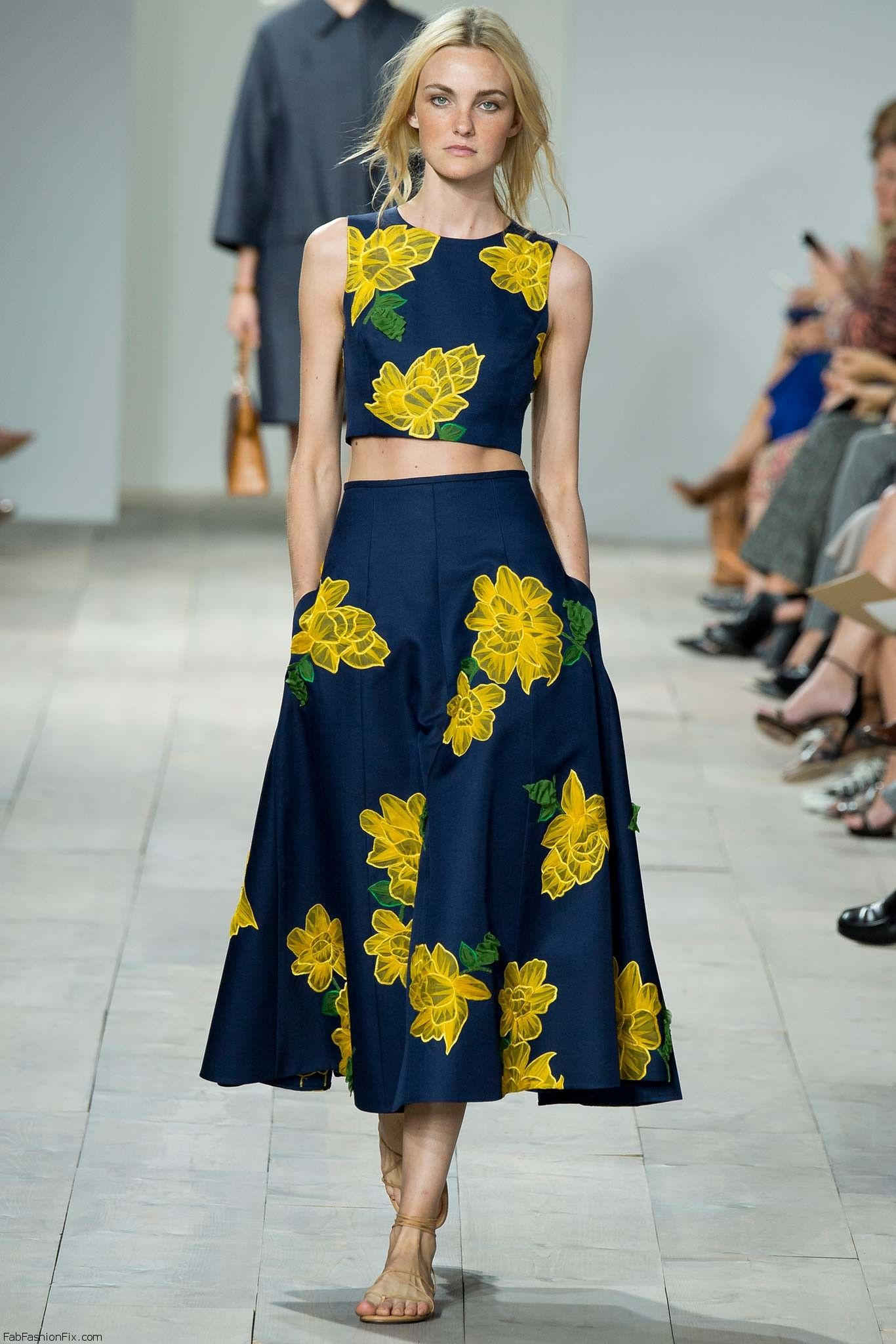 Michael kors spring summer 2015 collection new york for Boda en jardin vestidos