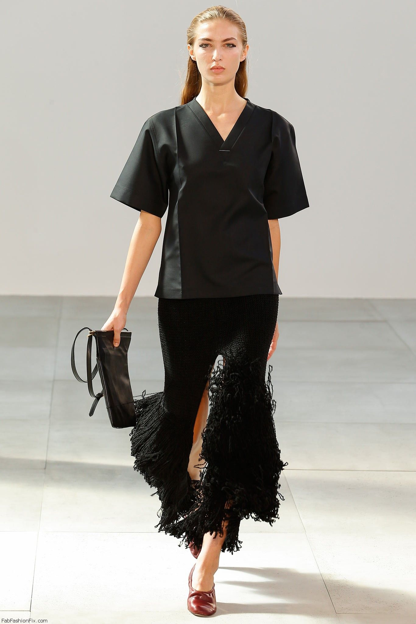 céline spring/summer 2015 collection – paris fashion week | fab