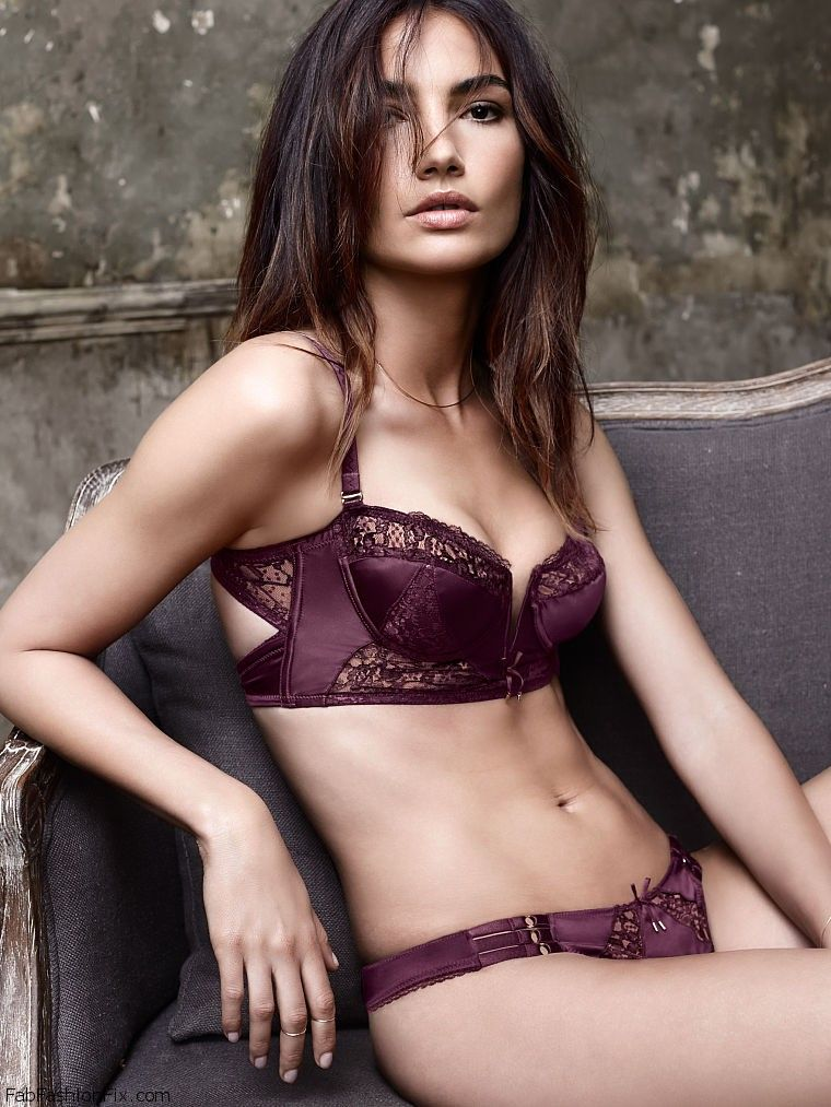 Lily Aldridge is sexy bombshell for Victoria's Secret ...