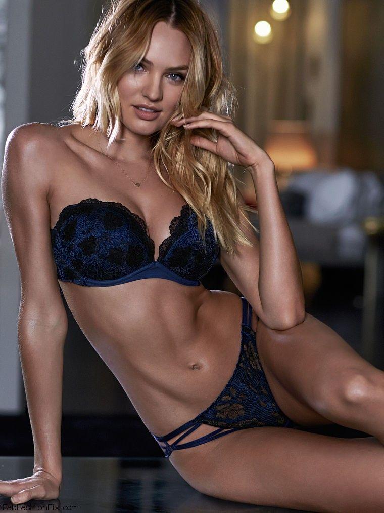 99d42b80c2b Candice Swanepoel looks smouldering for Victoria s Secret lingerie  (September 2014)
