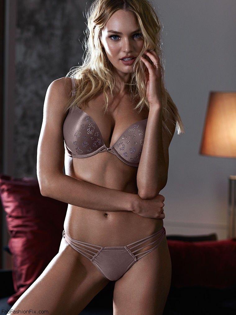 f600eb7102 Candice Swanepoel looks smouldering for Victoria s Secret lingerie ...