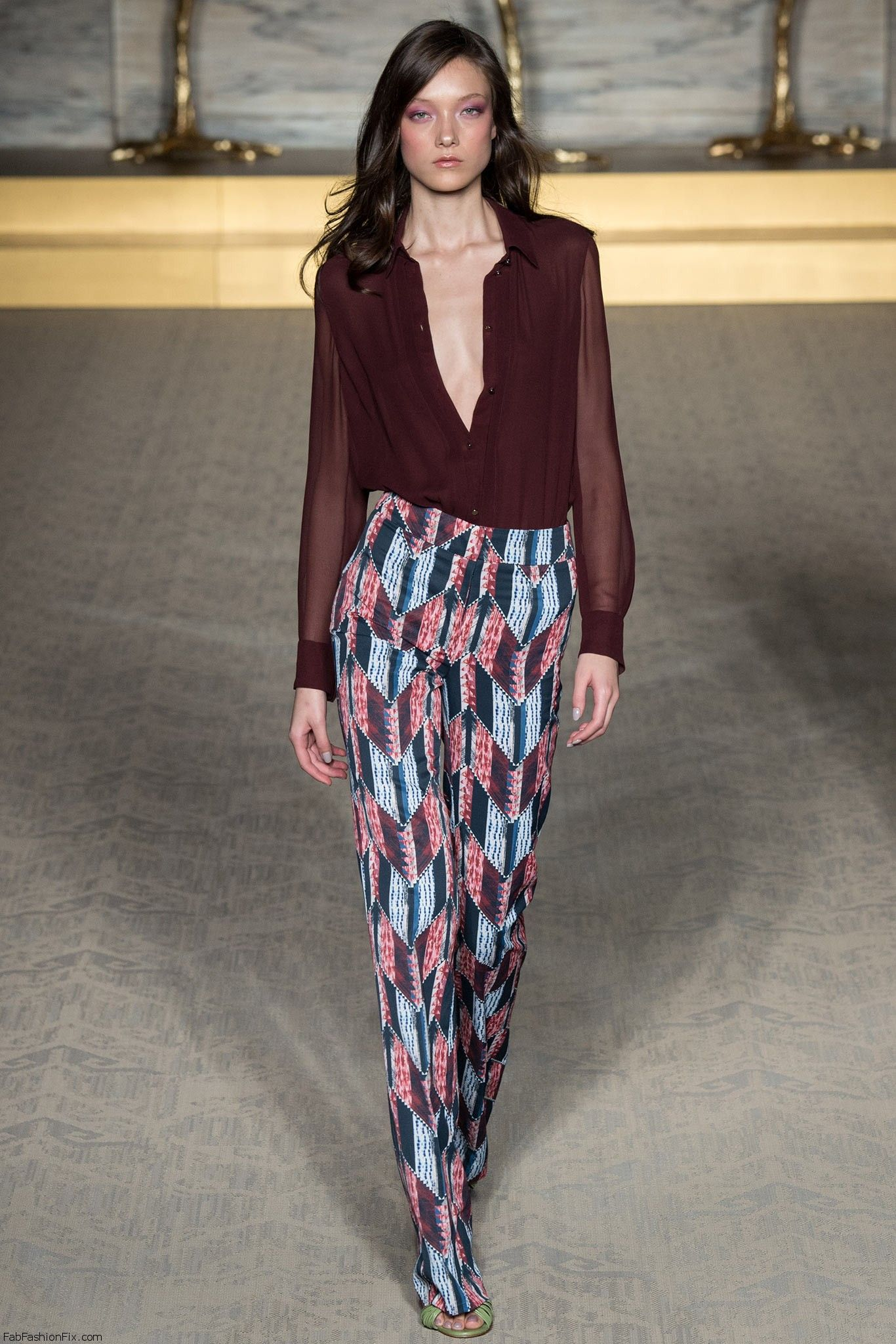 ... new spring/summer 2015 collection at London fashion week spring 2015