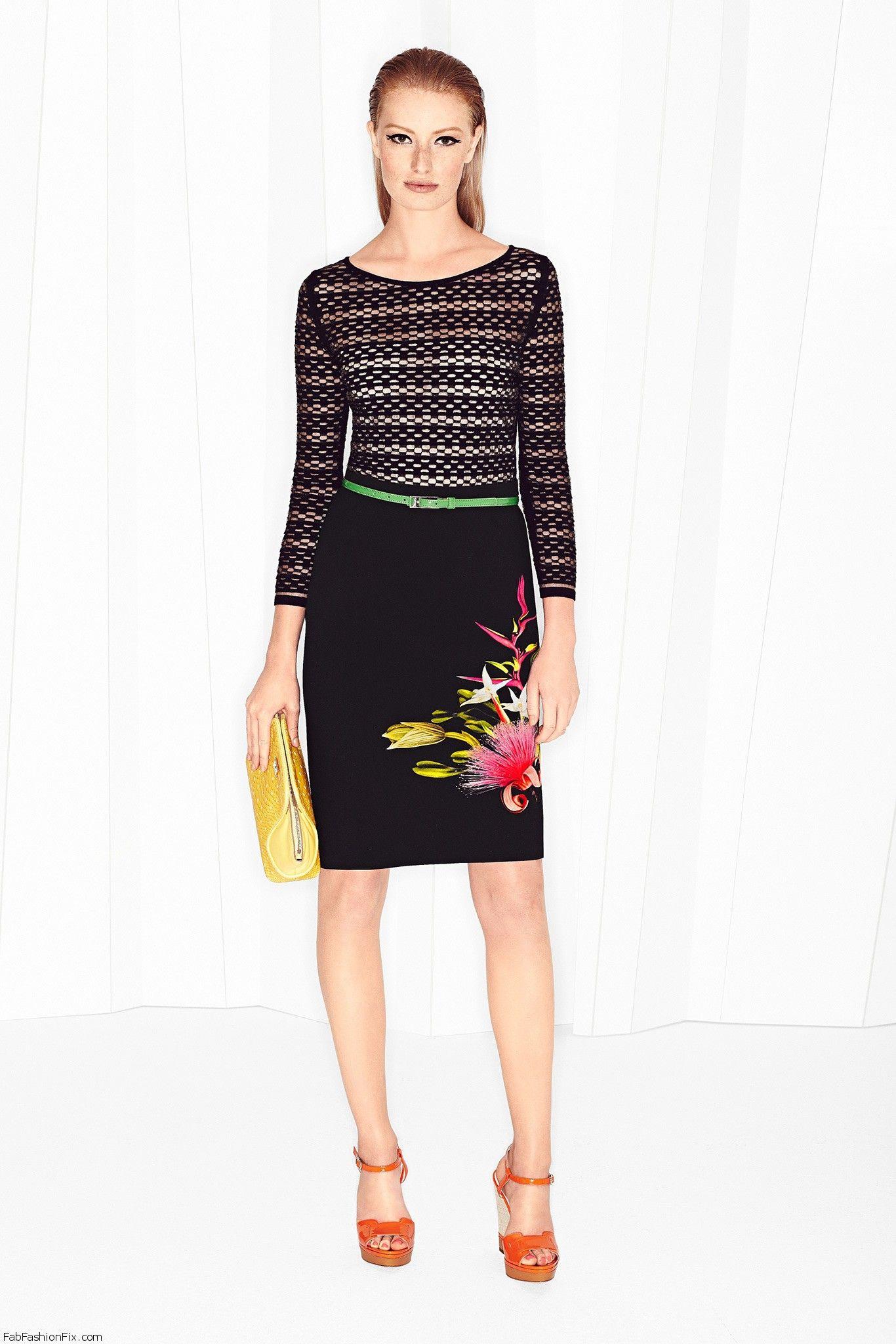 Escada Spring Summer 2015 Collection New York Fashion Week Fab Fashion Fix