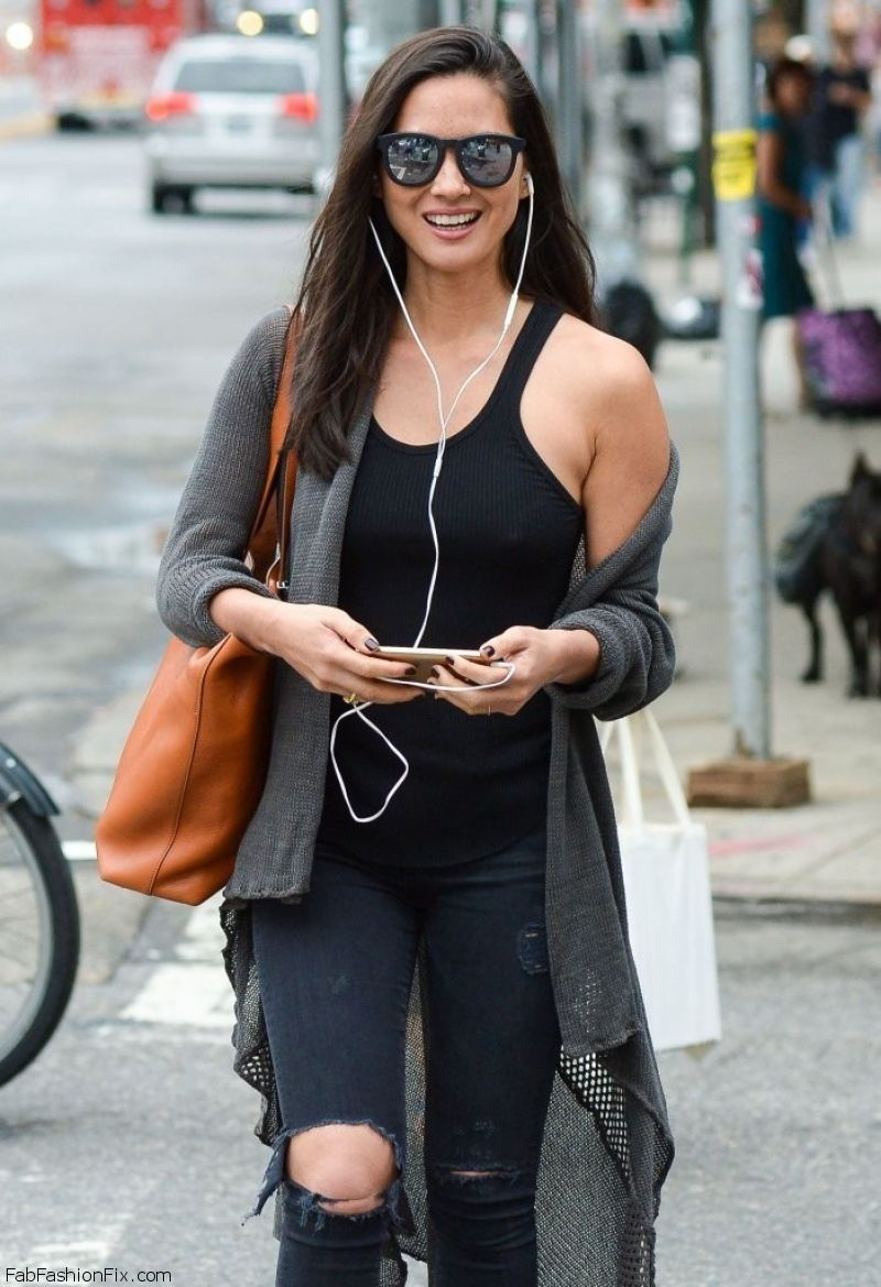Style Watch Celebrity Street Style September 2014 Fab