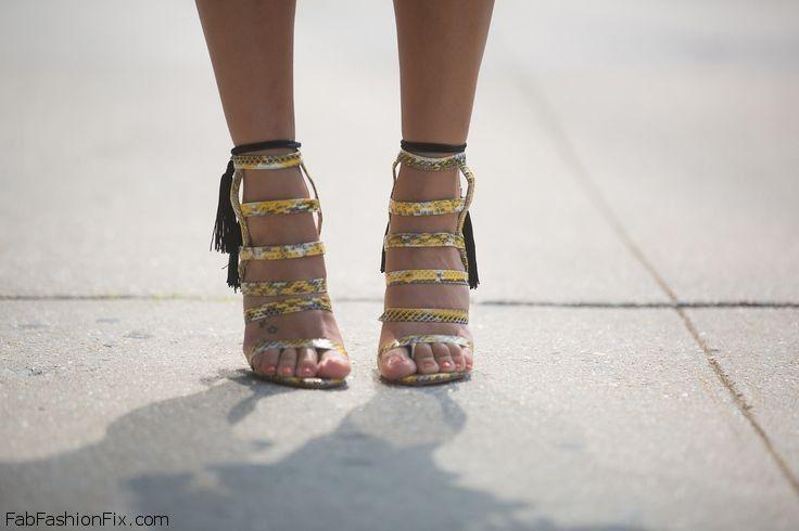 snakeskin Alejandra G. sandals