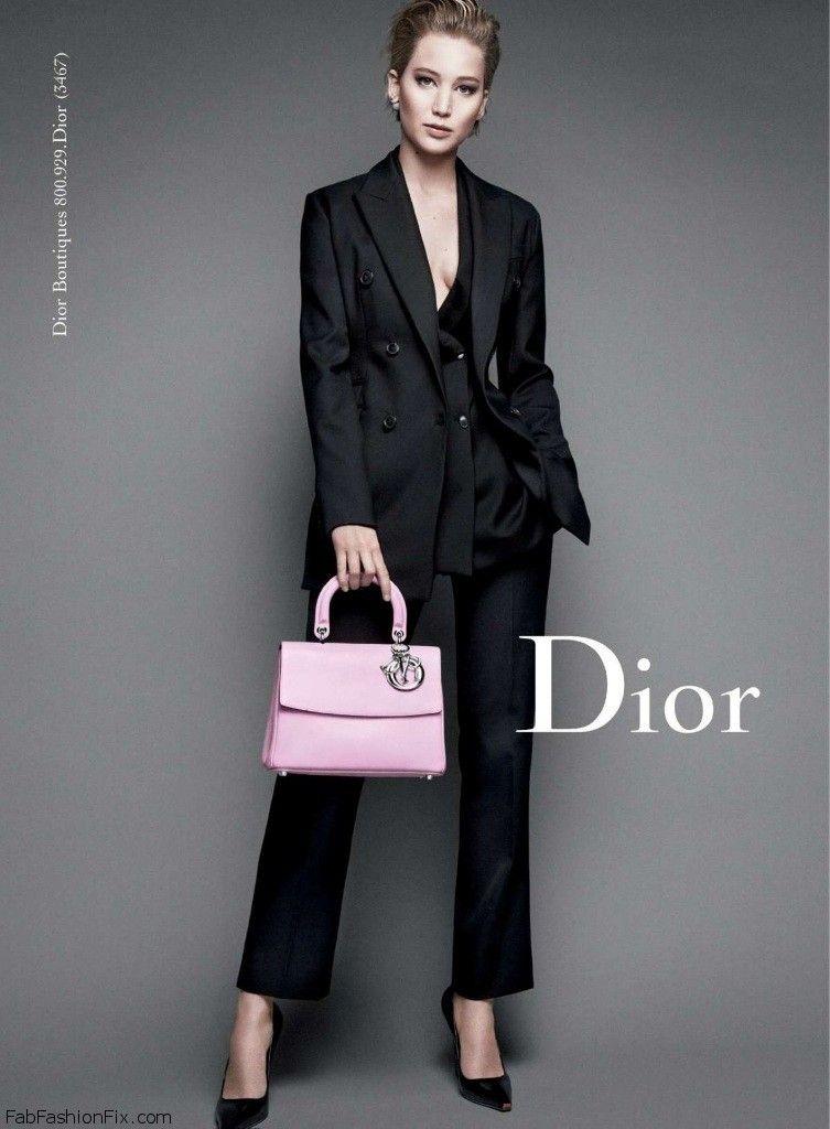 Jennifer Lawrence Exudes Elegance For Christian Dior Miss