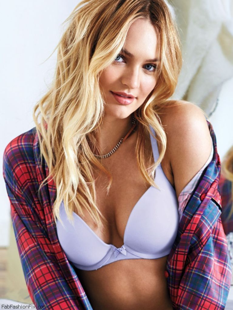 Candice Swanepoel Is Effortlessly Sexy For Victoria S