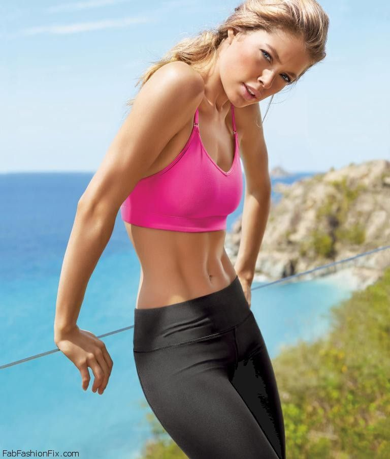 Doutzen Kroes Flaunts Her Athletic Physique For Victoria S