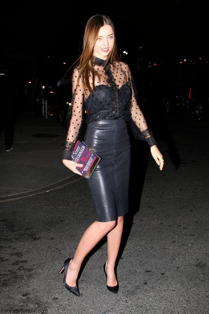 Style Watch: How celebrities style and wear leather skirts? | Fab ...
