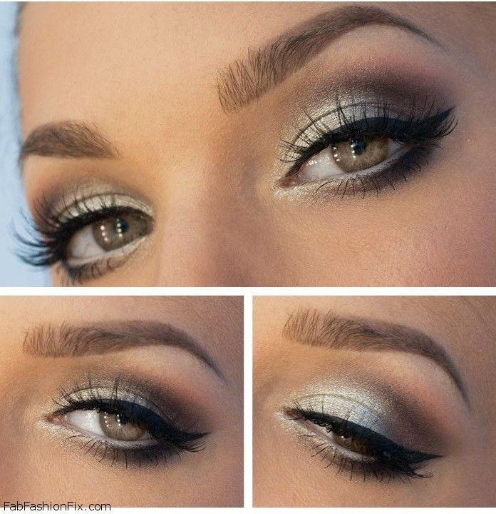 How To Do Silver Smokey Eye Makeup Tutorial Fab Fashion Fix