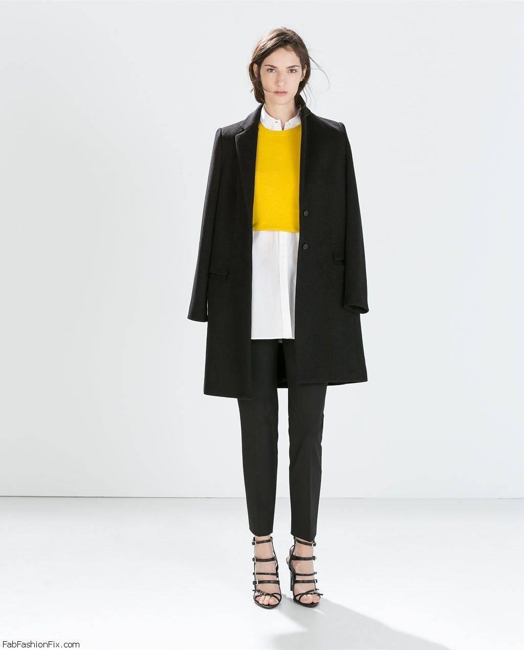 ZARA coats & jackets for fall/winter 2014