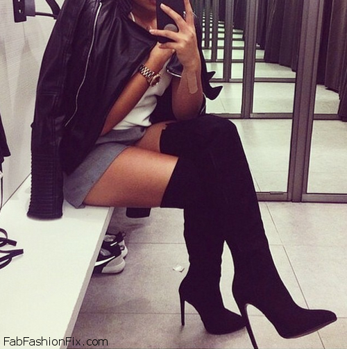 Style Guide: How to wear thigh high boots? 3 tips for looking stylish and chic