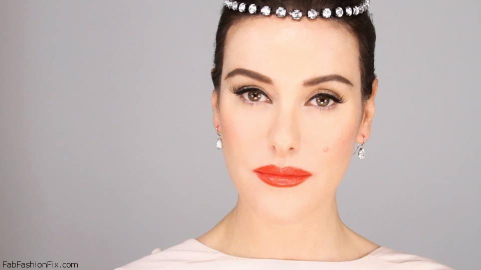 Glamorous Audrey Hepburn 1950u2019s Inspired Makeup Tutorial : Fab ...