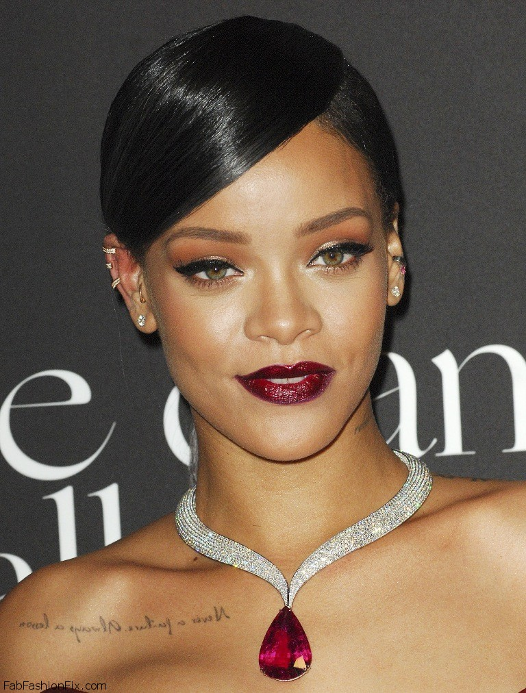 Rihanna attends the First Annual Diamond Ball 11.12.2014_255