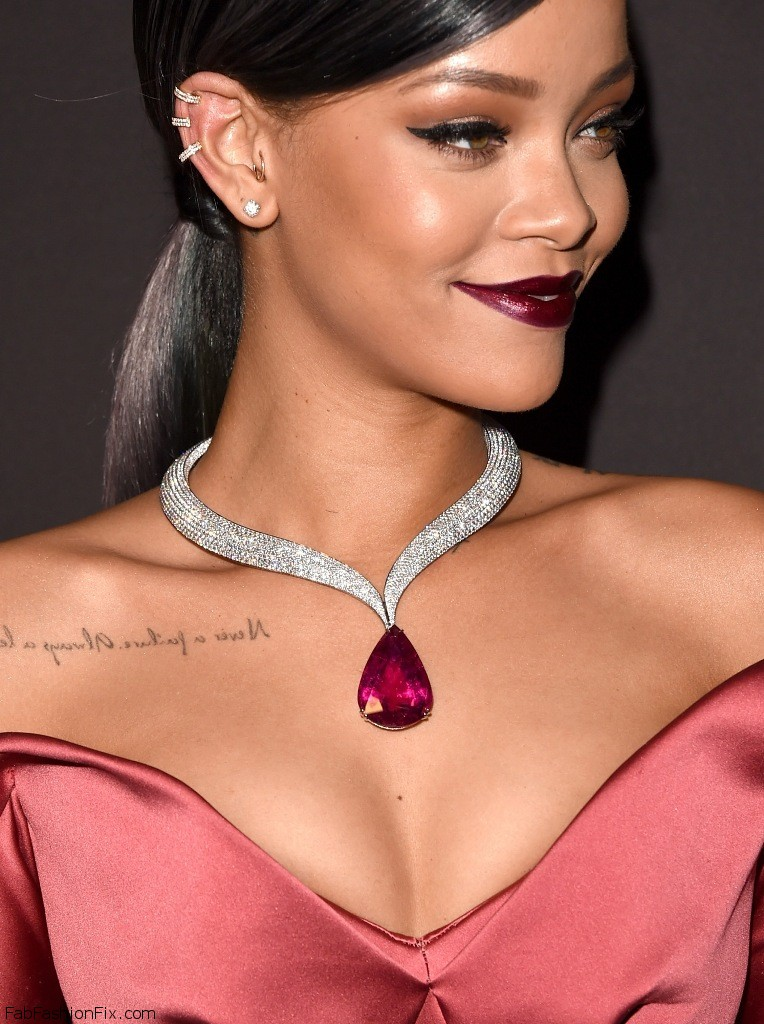 Rihanna attends the First Annual Diamond Ball 11.12.2014_386
