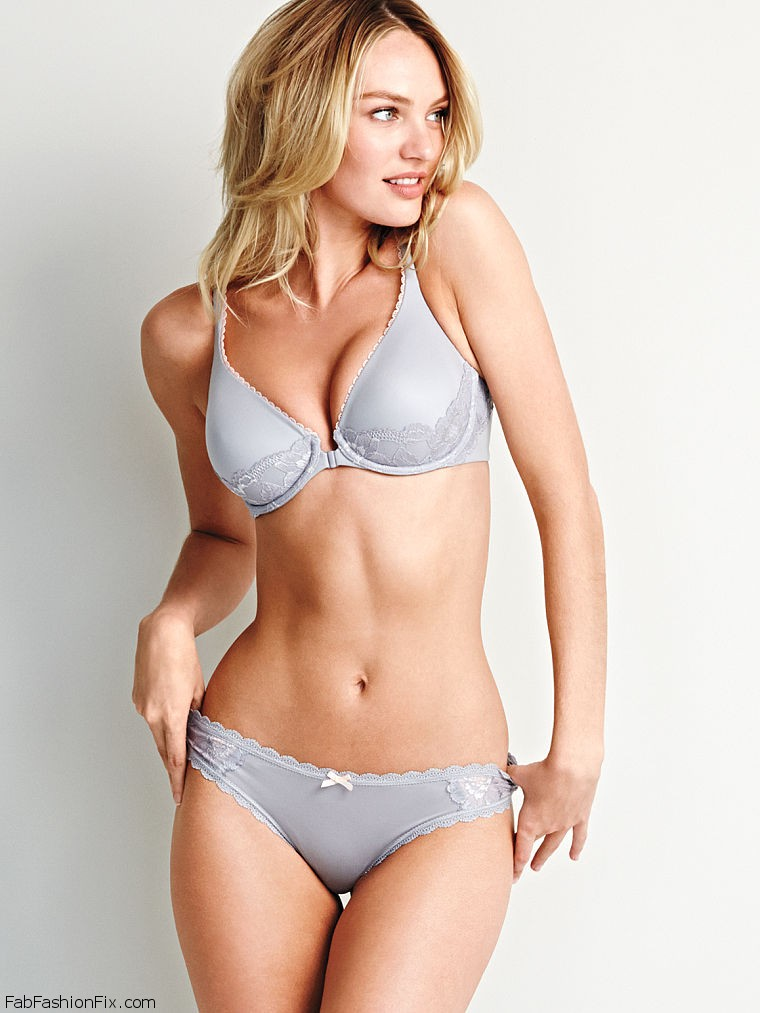 5974530220 Candice Swanepoel stuns in Victoria's Secret lingerie photoshoot ...
