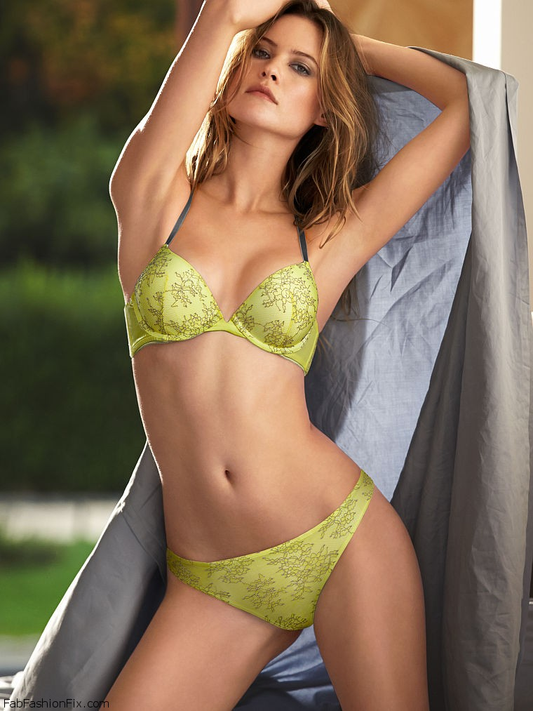 256f5ded849a Behati Prinsloo is effortlessly sexy for Victoria's Secret lingerie ...