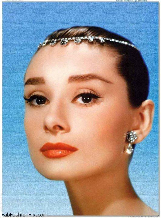 580d67b096c Glamorous Audrey Hepburn 1950's Inspired Makeup Tutorial | Fab ...