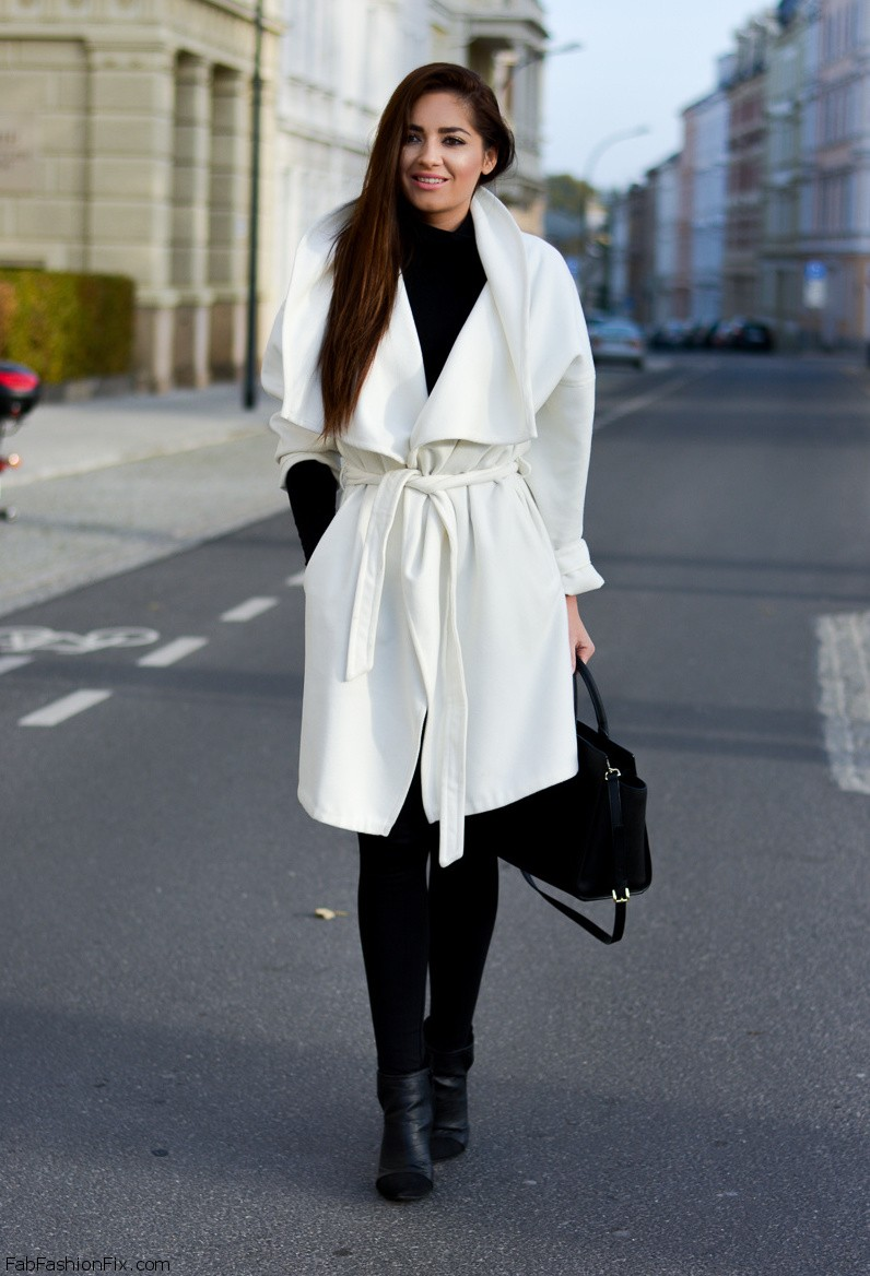 Style Watch: How fashion bloggers style and wear coats this winter ...