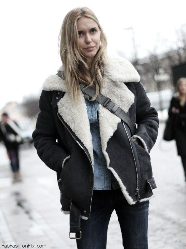 Aviator Jacket-Winter Fashion 2011