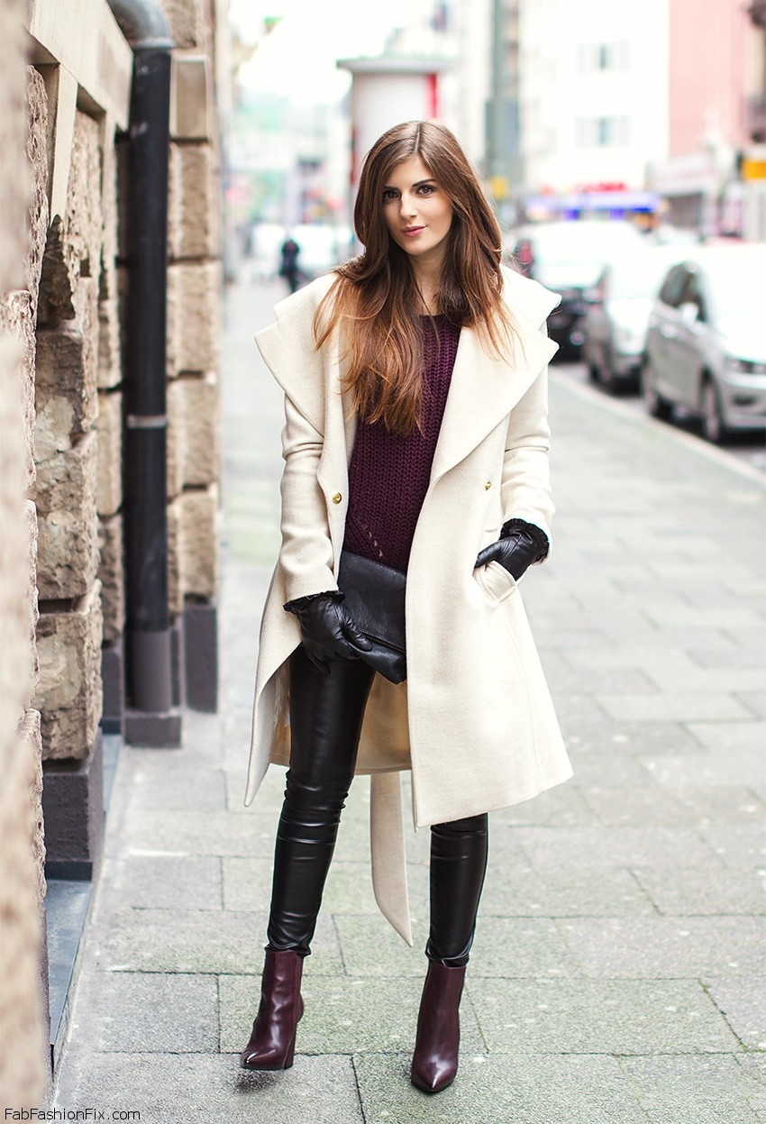 Style Watch How Fashion Bloggers Style And Wear Coats