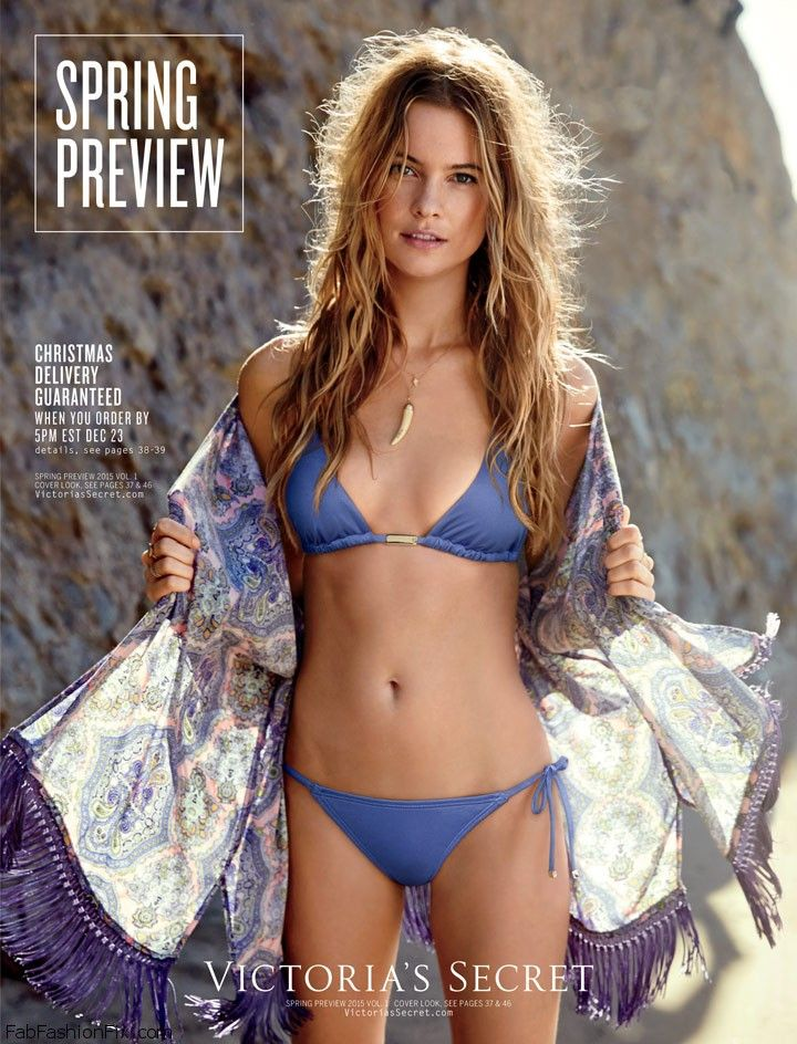 b6b48d8d9e Victoria s Secret releases the Swim 2015 Catalogue with Behati ...