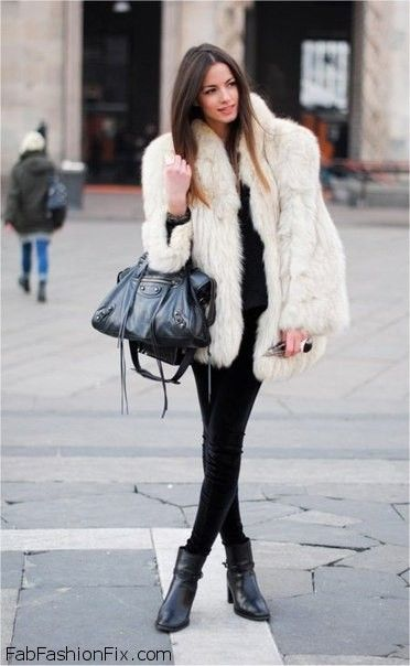 Style Guide How To Style And Wear Faux Fur This Winter