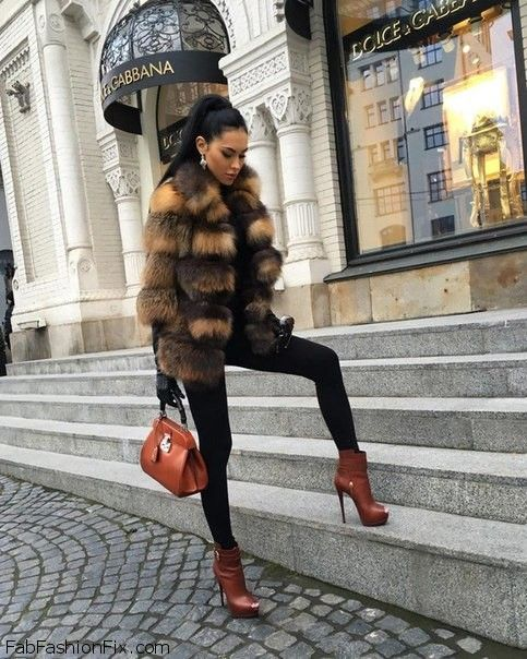 Style Guide: How to style and wear faux fur this winter? | Fab