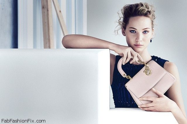 bdb22d1993 Jennifer Lawrence stuns in new Dior campaign for