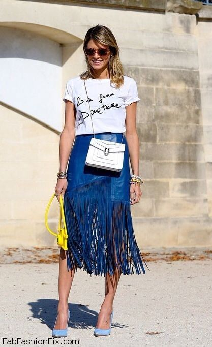 Style Guide: How to wear and style fringe this spring ...