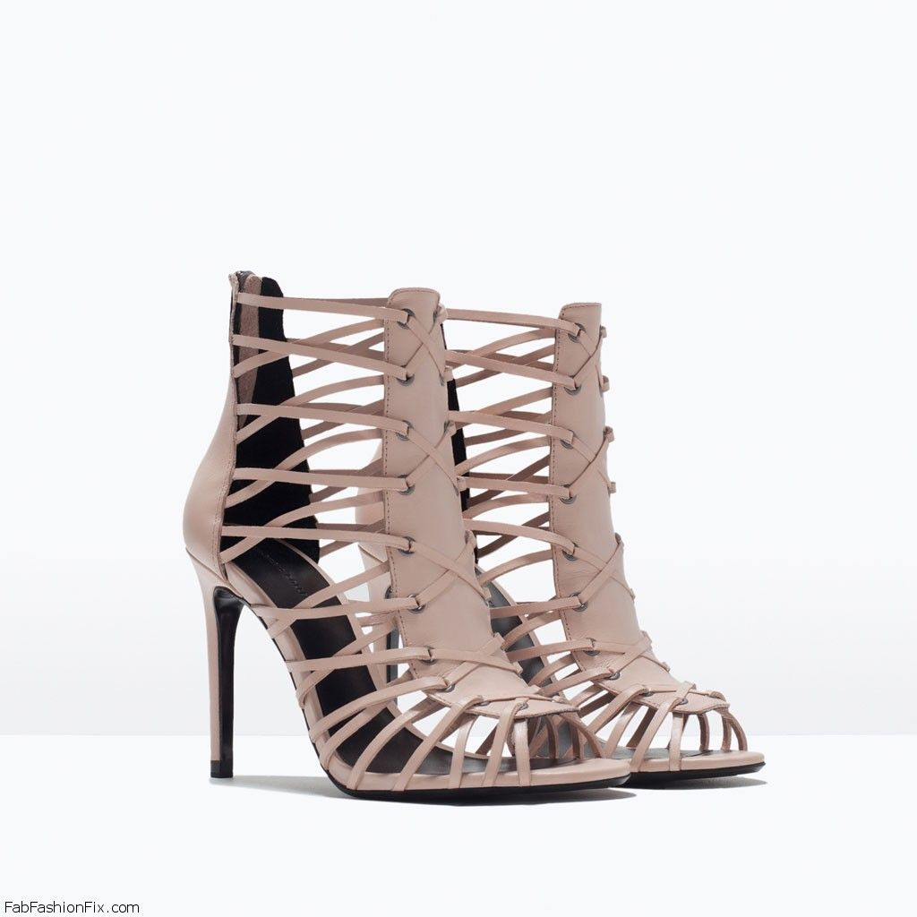 Zara Spring Summer 2015 Shoes Collection Fab Fashion Fix