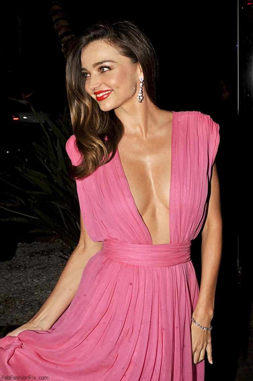 May 14, 2015: Mirand Kerr in a pink evening gown at Cannes, France. Mandatory Credit: INFphoto.com Ref.: infswich-02