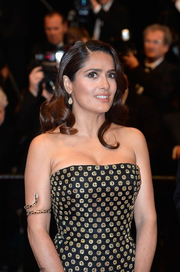 "CANNES, FRANCE - MAY 14:Salma Hayek attends the Premiere of ""Il Racconto Dei Racconti"" (""Tale Of Tales"") during the 68th annual Cannes Film Festival on May 14, 2015 in Cannes, France.  (Photo by Pascal Le Segretain/Getty Images)"