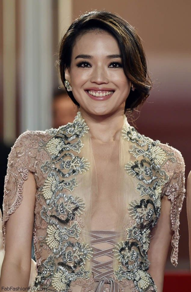 "Taiwanese actress Shu Qi smiles as she arrives for the screening of the film ""Nie Yinniang"" (The Assassin) at the 68th Cannes Film Festival in Cannes, southeastern France, on May 21, 2015. AFP PHOTO / BERTRAND LANGLOIS (Photo credit should read BERTRAND LANGLOIS/AFP/Getty Images)"