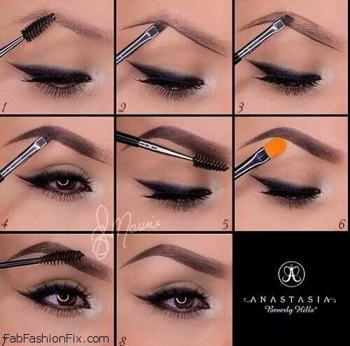 how to use anastasia beverly hills brow kit fab fashion fix. Black Bedroom Furniture Sets. Home Design Ideas