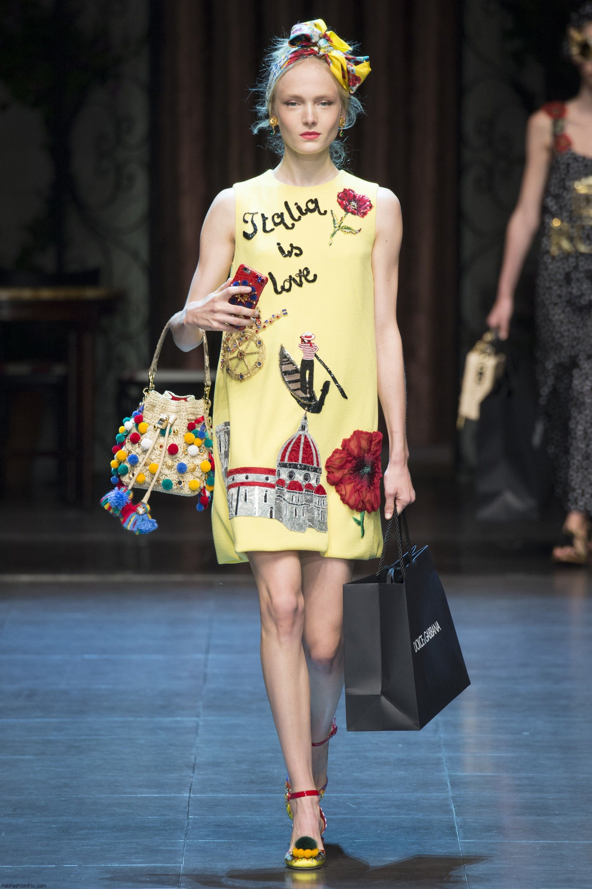 Dolce & Gabbana Spring/summer 2016 Collection - Milan Fashion Week