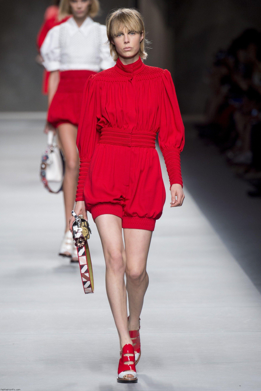 Fendi Spring/summer 2016 Collection - Milan Fashion Week
